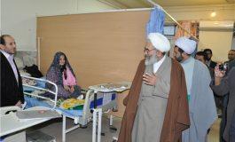 اجرای طرح مهر تندرستی با حضور حضرت ایت الله معلمی