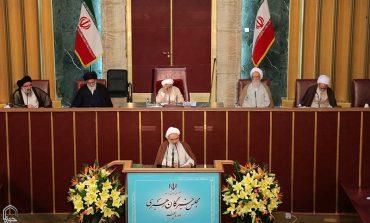 چهارمین اجلاس مجلس خبرگان رهبری در دوره پنجم با نطق پیش از دستور ابوالشهیدین آیت الله معلمی آغاز به کار کرد + تصاویر