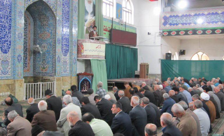مراسم نمازجمعه ۳ فروردین ۱۳۹۷ شهرستان قائم شهر به روایت تصویر + فایل صوتی