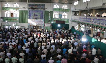 مراسم نماز عید سعید فطر شهرستان قائم شهر به روایت تصویر + فایل صوتی