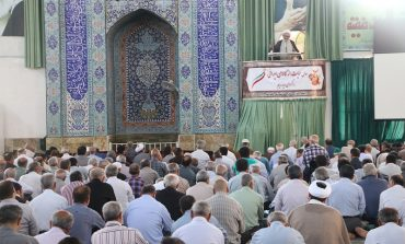 مراسم نماز جمعه هشتم تیر ماه 1397 شهرستان قائم شهر به روایت تصویر + فایل صوتی