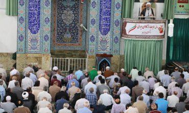 مراسم نمازجمعه 29 تیرماه 1397 شهرستان قائم شهر به روایت تصویر + فایل صوتی