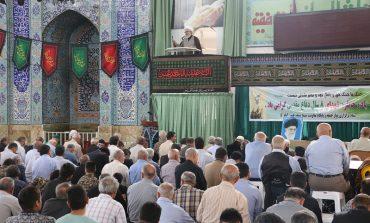 مراسم نمازجمعه 6 مهرماه 1397 شهرستان قائم شهر به روایت تصویر