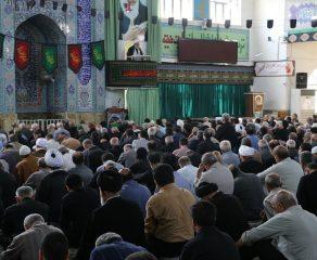 مراسم نماز جمعه سی اُم شهریورماه 1397 شهرستان قائم شهر به روایت تصویر