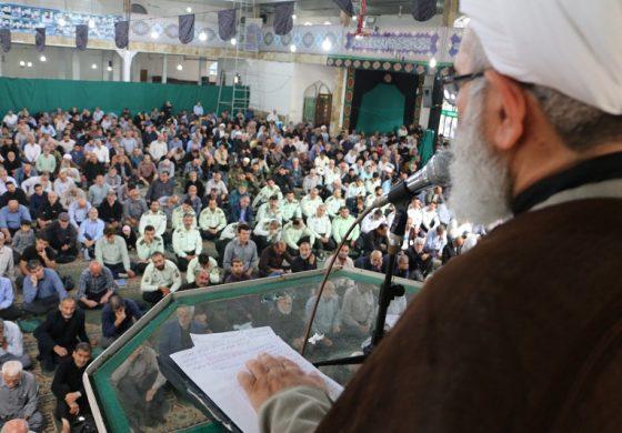 مراسم نمازجمعه 13 مهر 1397 شهرستان قائم شهر به روایت تصویر