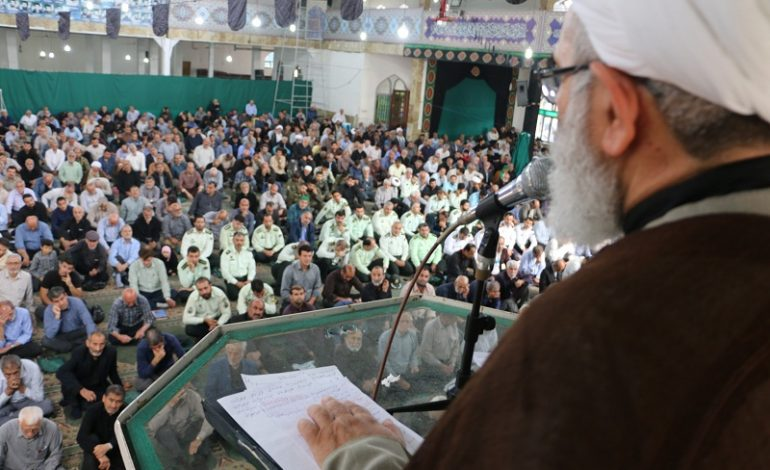 مراسم نمازجمعه ۱۳ مهر ۱۳۹۷ شهرستان قائم شهر به روایت تصویر