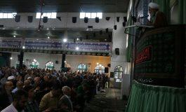 مراسم نمازجمعه 20 مهر ماه 1397 شهرستان قائم شهر به روایت تصویر