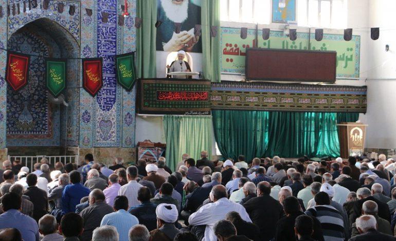 مراسم نمازجمعه ۲۷ مهرماه ۱۳۹۷ شهرستان قائم شهر به روایت تصویر