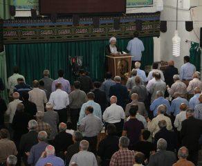 مراسم نمازجمعه چهارم آبان 1397 شهرستان قائم شهر به روایت تصویر