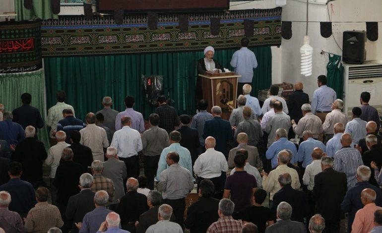 مراسم نمازجمعه چهارم آبان ۱۳۹۷ شهرستان قائم شهر به روایت تصویر
