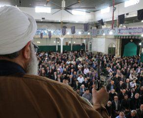 مراسم نمازجمعه 11 آبان 1397 شهرستان قائم شهر به روایت تصویر