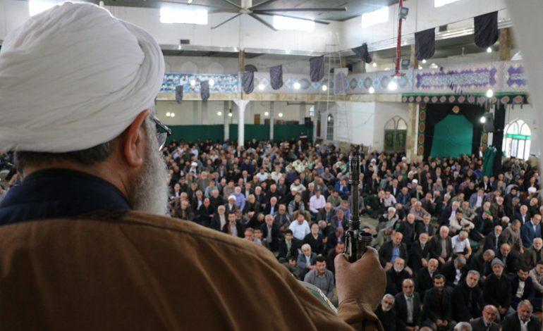 مراسم نمازجمعه ۱۱ آبان ۱۳۹۷ شهرستان قائم شهر به روایت تصویر
