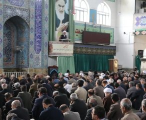 مراسم نماز جمعه هجدهم  آبان ماه 1397 شهرستان قائم شهر به روایت تصویر