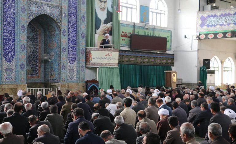 مراسم نماز جمعه هجدهم  آبان ماه ۱۳۹۷ شهرستان قائم شهر به روایت تصویر