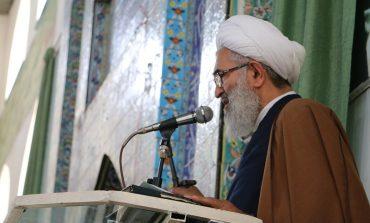 مراسم نمازجمعه 25 آبان 1397 شهرستان قائم شهر به روایت تصویر