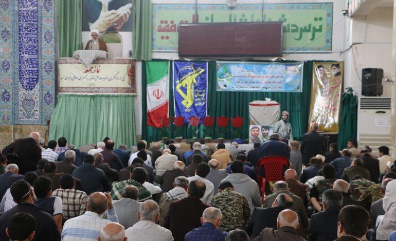 مراسم نماز جمعه ۲ آذر ماه ۱۳۹۷ شهرستان قائم شهر به روایت تصویر