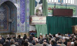 مراسم نمازجمعه 9 آذر 1397 قائم شهر به روایت تصویر