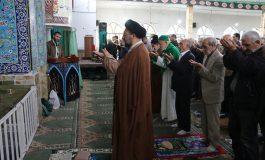 مراسم نمازجمعه 16 آذر 1397 شهرستان قائم شهر به روایت تصویر