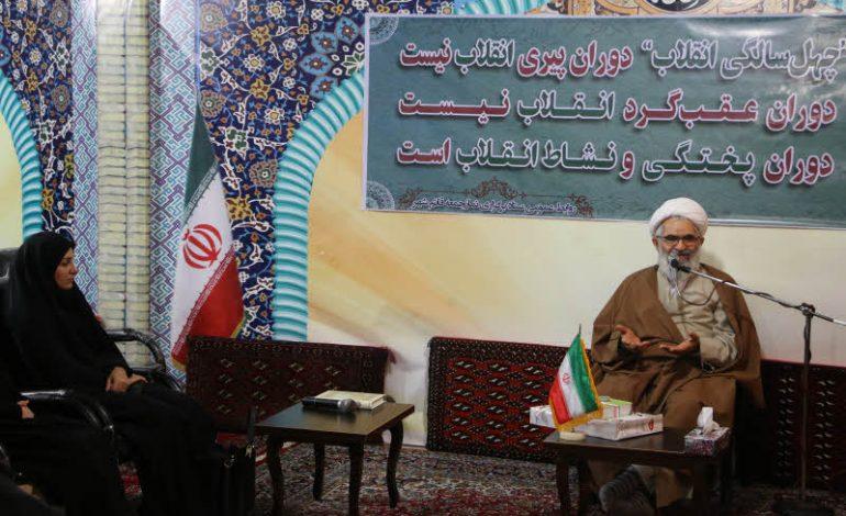 همایش نقش بانوان در انقلاب اسلامی در دفتر امام جمعه قائم شهر برگزار شد + تصاویر