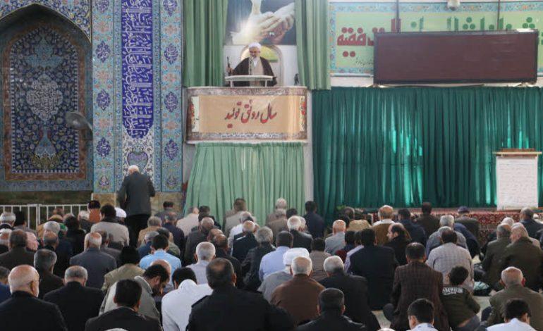 مراسم نماز جمعه دوم فروردین ماه ۱۳۹۸ شهرستان قائم شهر به روایت تصویر