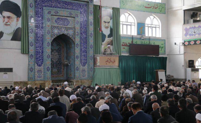 مراسم نمازجمعه ۱۶ فروردین ۱۳۹۸ شهرستان قائم شهر به روایت تصویر