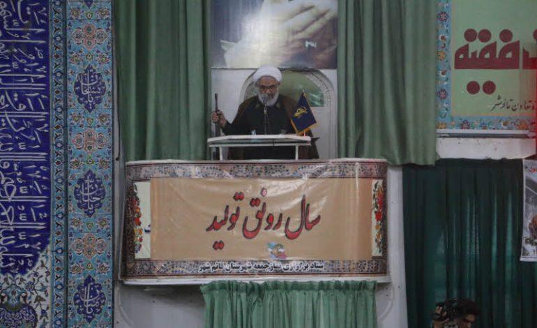 مراسم نمازجمعه ۲۳ فروردین ۱۳۹۸ شهرستان قائم شهر به روایت تصویر