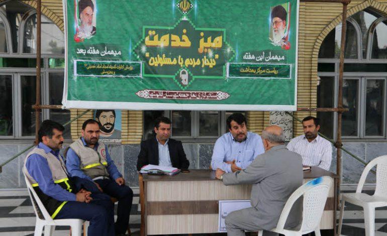 مراسم نماز جمعه ۲۰ اردیبهشت ماه ۱۳۹۸ شهرستان قائم شهر به روایت تصویر