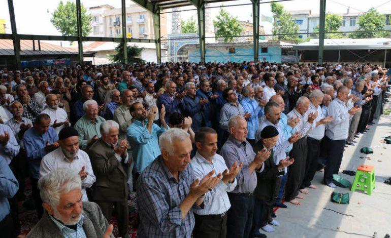 مراسم نماز جمعه روز قدس مورخه  ۱۰ خرداد ماه ۱۳۹۸ شهرستان قائم شهر به روایت تصویر