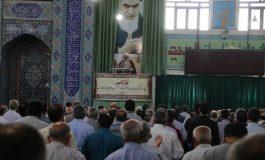 مراسم نماز جمعه 24 خرداد ماه 1398 شهرستان قائم شهر به روایت تصویر
