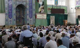 مراسم نماز جمعه 4 مرداد ماه 1398 شهرستان قائم شهر  به روایت تصویر