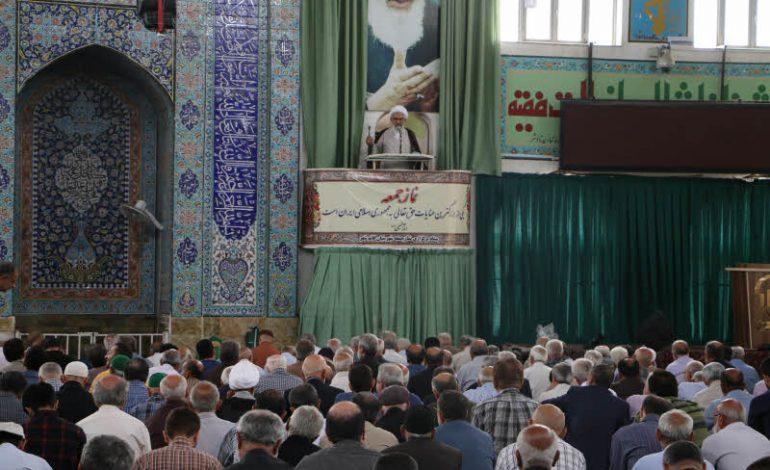 مراسم نماز جمعه ۱۸ مرداد ماه ۱۳۹۸ شهرستان قائم شهر به روایت تصویر