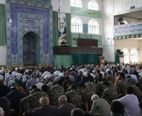 مراسم نماز جمعه 29 شهریور ماه 1398 شهرستان قائم شهر به روایت تصویر