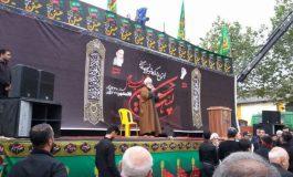 اجتماع بزرگ عصر تاسوعای حسینی در شهرستان قائم شهر برگزار شد + تصاویر