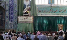 مراسم نماز جمعه 19 مهرماه ماه 1398 شهرستان قائم شهر به روایت تصویر