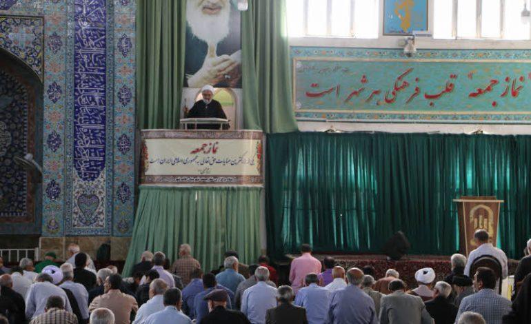 مراسم نماز جمعه ۱۹ مهرماه ماه ۱۳۹۸ شهرستان قائم شهر به روایت تصویر