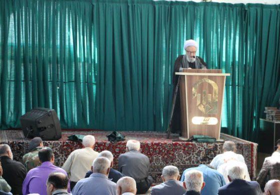 مراسم نماز جمعه 26 مهرماه ماه 1398 شهرستان قائم شهر به روایت تصویر