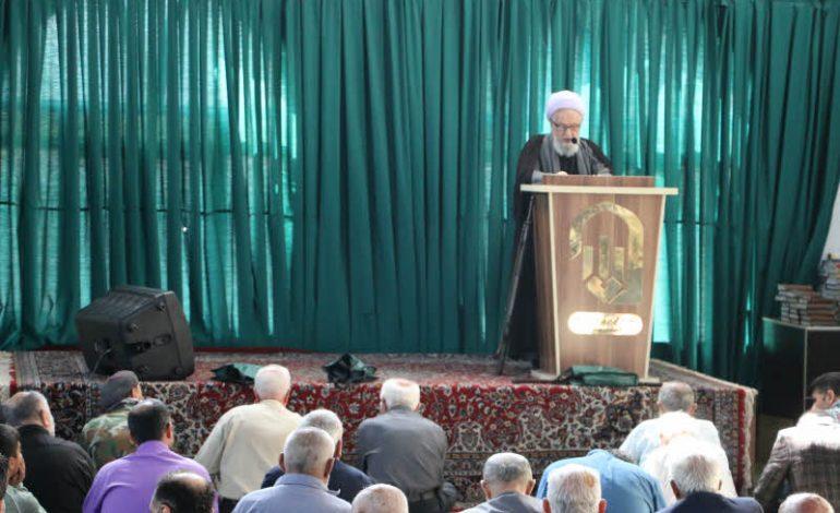 مراسم نماز جمعه ۲۶ مهرماه ماه ۱۳۹۸ شهرستان قائم شهر به روایت تصویر