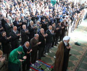مراسم نماز جمعه 8 آذر ماه 1398 شهرستان قائم شهر به روایت تصویر