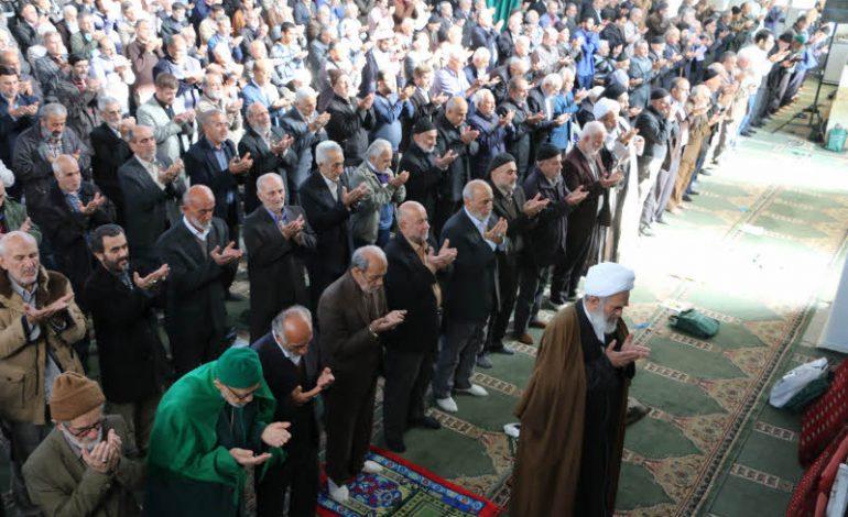 مراسم نماز جمعه ۸ آذر ماه ۱۳۹۸ شهرستان قائم شهر به روایت تصویر