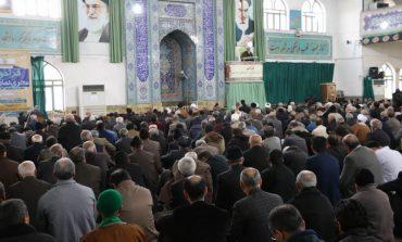 مراسم نماز جمعه 15 آذر ماه 1398 شهرستان قائم شهر به روایت تصویر