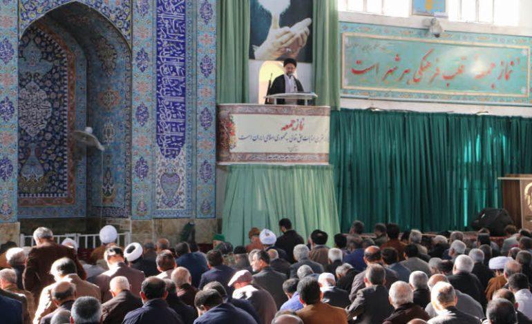 مراسم نمازجمعه ۲۹ آذر ۱۳۹۸ شهرستان قائم شهر به روایت تصویر