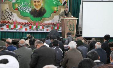 مراسم نماز جمعه 20 دی ماه 1398 شهرستان قائم شهر
