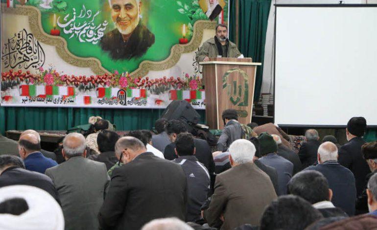 مراسم نماز جمعه ۲۰ دی ماه ۱۳۹۸ شهرستان قائم شهر