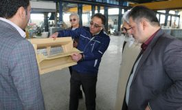 آیت الله معلمی با حضور در کارخانه گروه صنعتی الوند ،  در روز مدیریت جهادی ، اقتصاد مقاومتی و رونق تولید ، در ایام الله دهه مبارکه فجر ، از این مجموعه بازدید بعمل آوردند + تصاویر